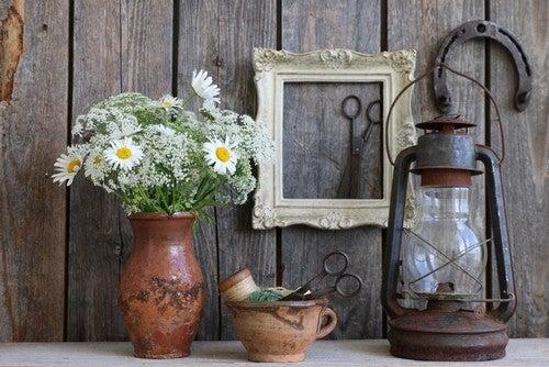Quais são as principais características da decoração de uma fazenda?