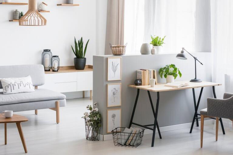 O uso da cor e do design para ganhar espaço em casa
