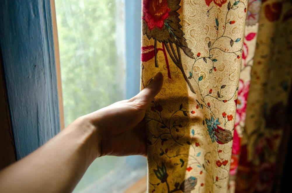 Rosas nos têxteis