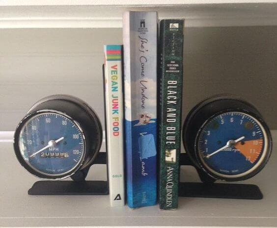 Um aparador de livros muito veloz