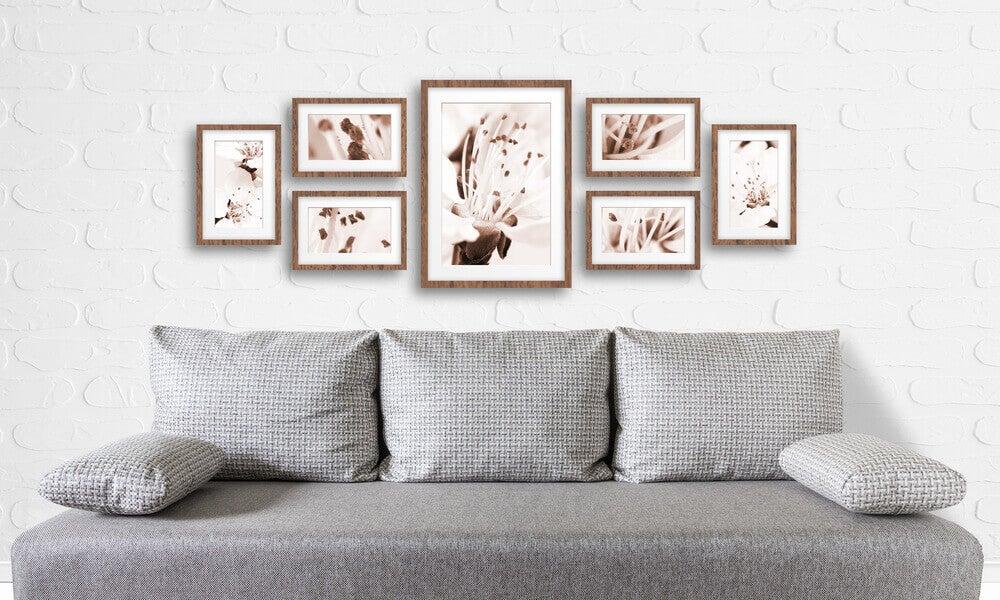 Altura na qual colocar quadros na parede