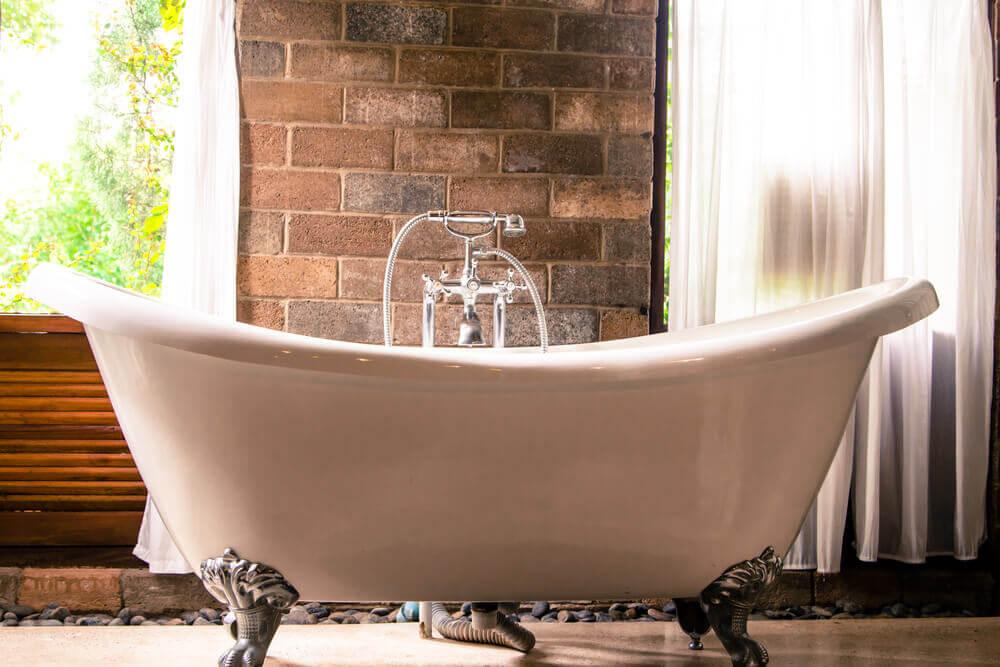 As banheiras e as tendências modernas