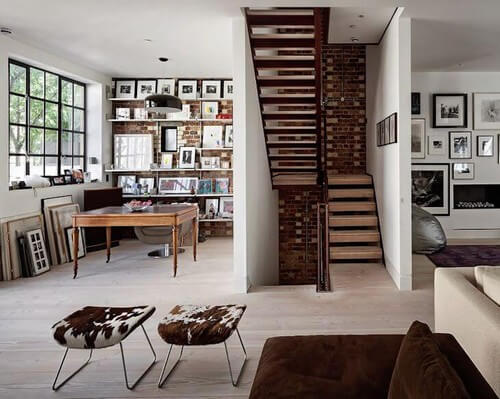 Características arquitetônicas do estilo londrino contemporâneo