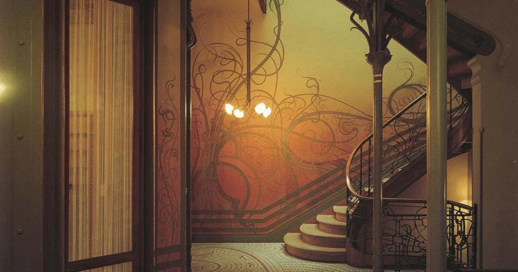 O design de interiores da Casa Tassel