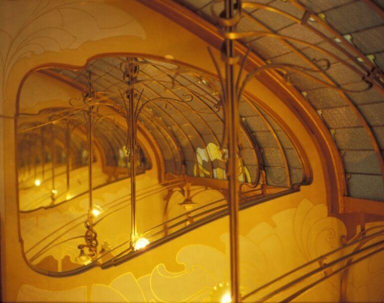A Casa Tassel foi criada pelo arquiteto e artista Víctor Horta