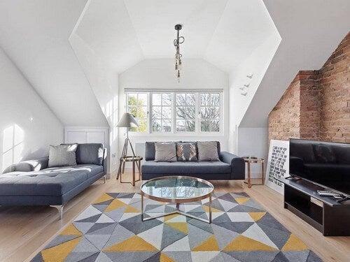 Os móveis do estilo londrino contemporâneo