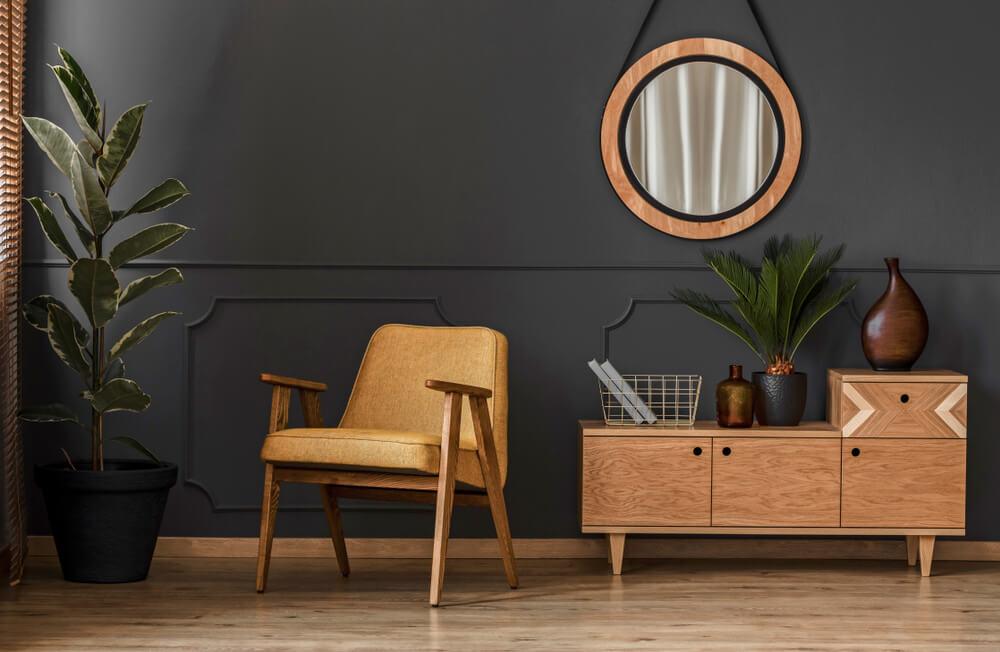 Brinque com os espelhos para personalizar a sua casa
