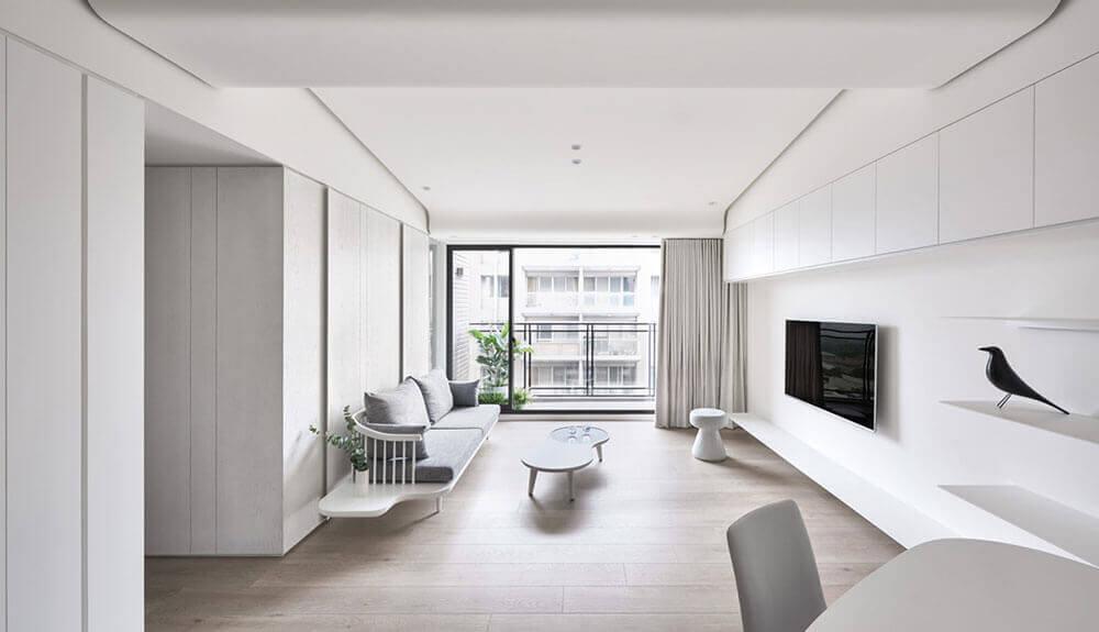 equilíbrio de estilo minimalista