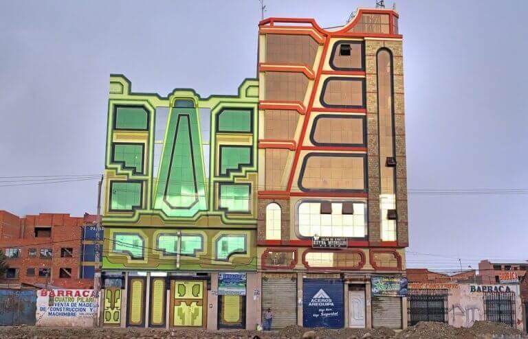 a arquitetura neo-andina da opulência