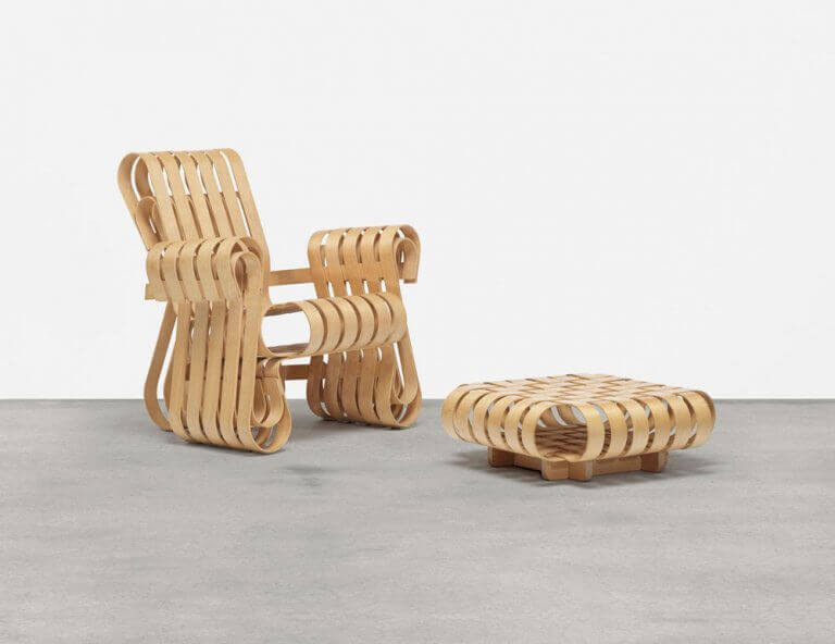 Os móveis de Frank Gehry: cadeira Power Play