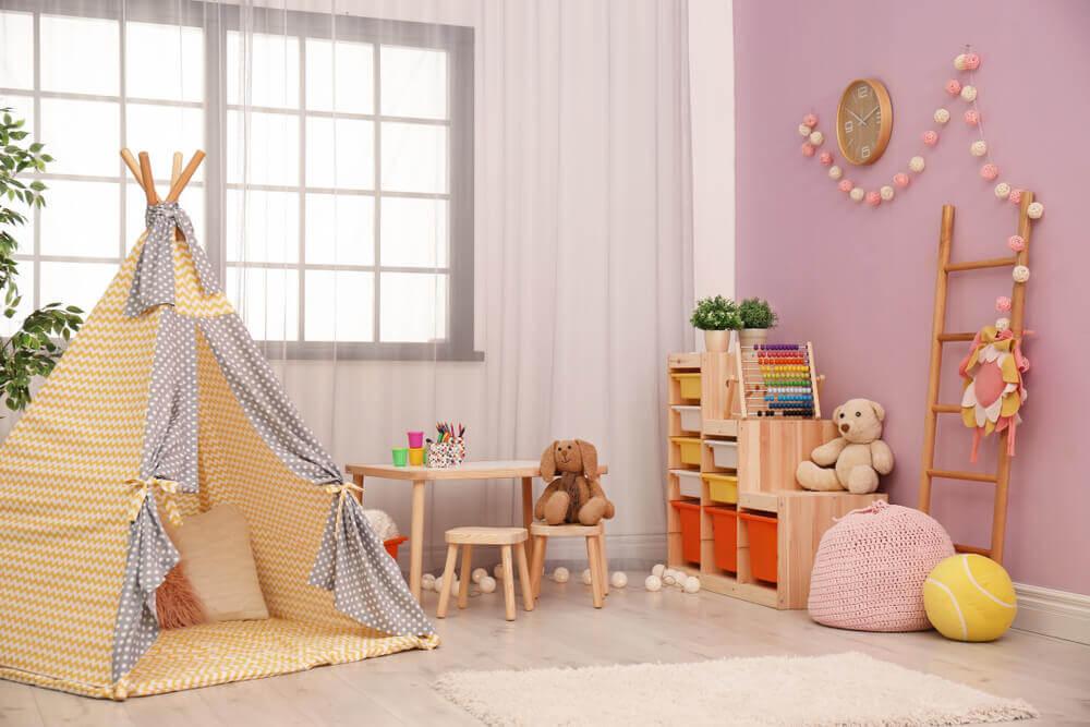 Acessórios para decorar quartos infantis