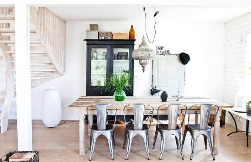 Cadeiras Tolix: ideias para uma decoração alternativa
