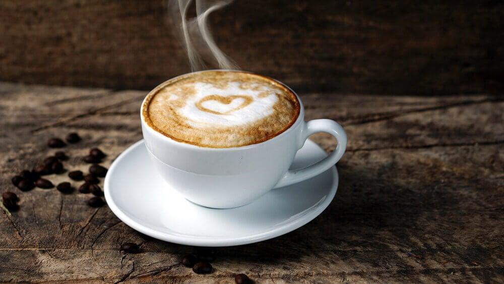 um aroma de café fresco