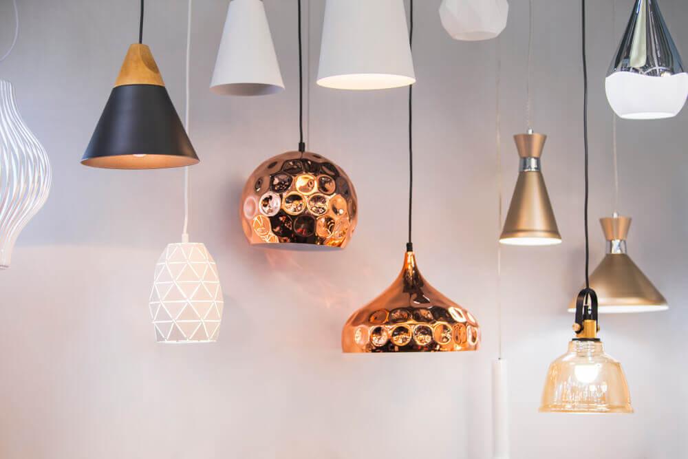 Luminárias do mundo: tipos e estilos
