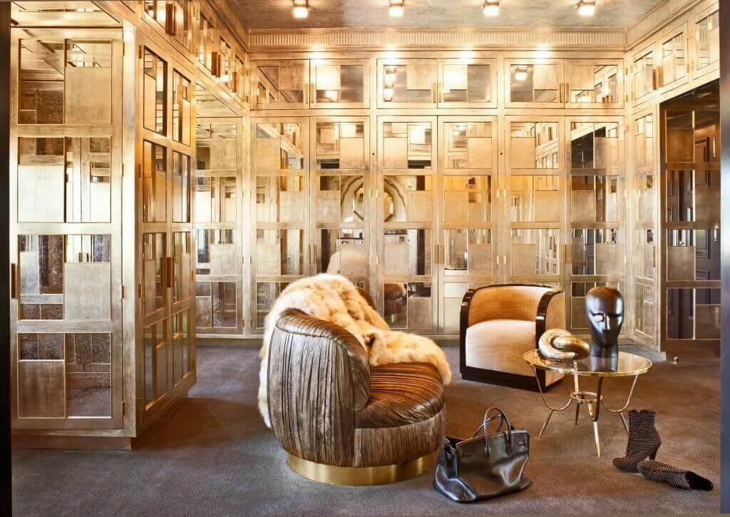 Os designs de interiores de Kelly Wearstler