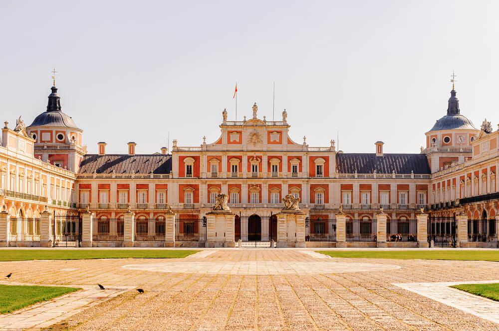 A decoração do Palácio de Aranjuez