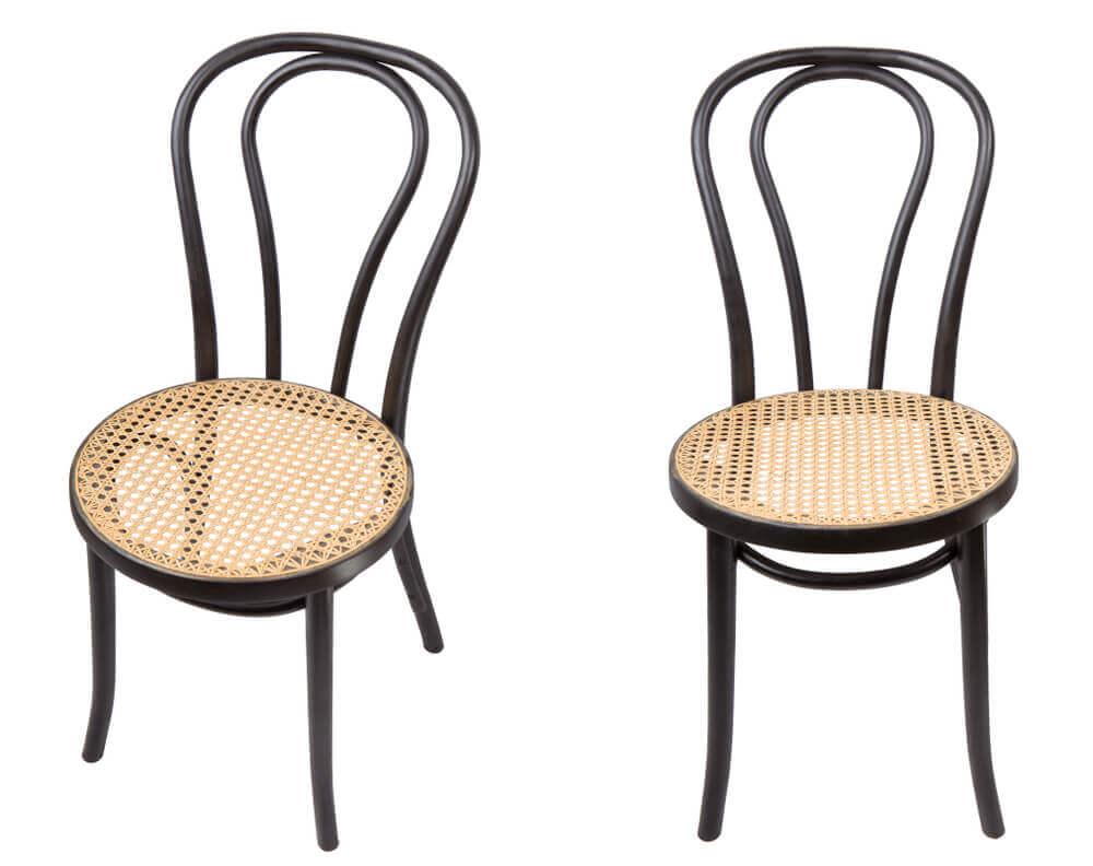 A cadeira Thonet: a curva e o dinamismo