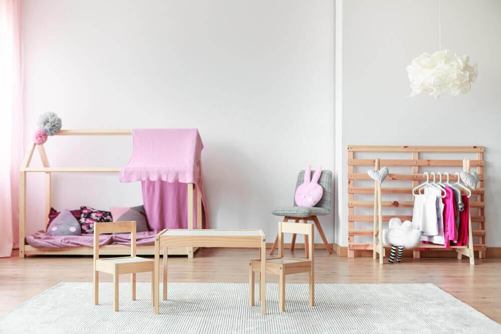 Camas de menina para um quarto dos sonhos