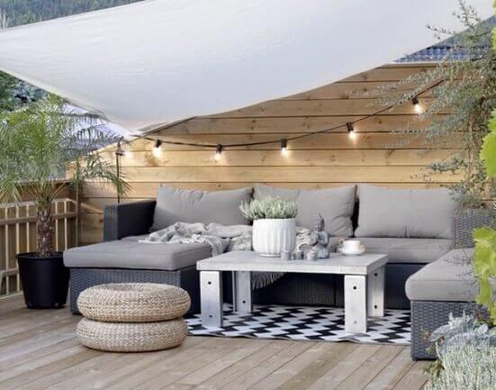 tendências para serem incluídas no seu terraço neste verão