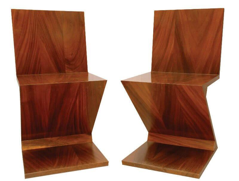 A cadeira Zig Zag de Gerrit Rietveld