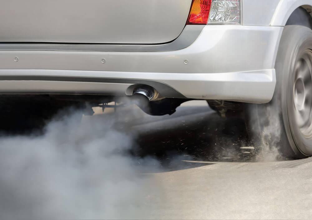 a poluição das ruas
