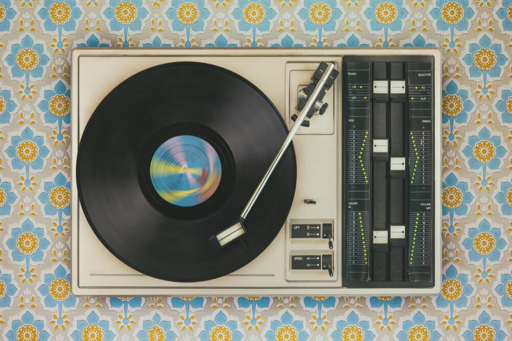 Aparelhos de música vintage