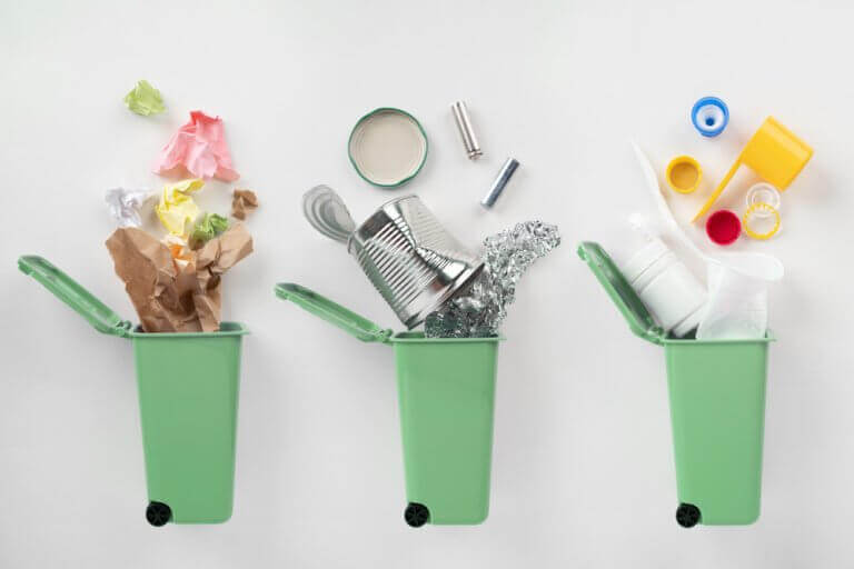 Plástico sustentável para a decoração