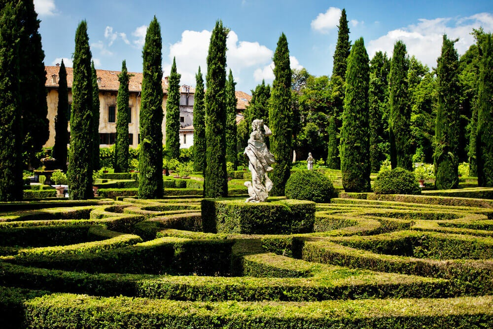 Jardim italiano ou jardim francês? Você decide