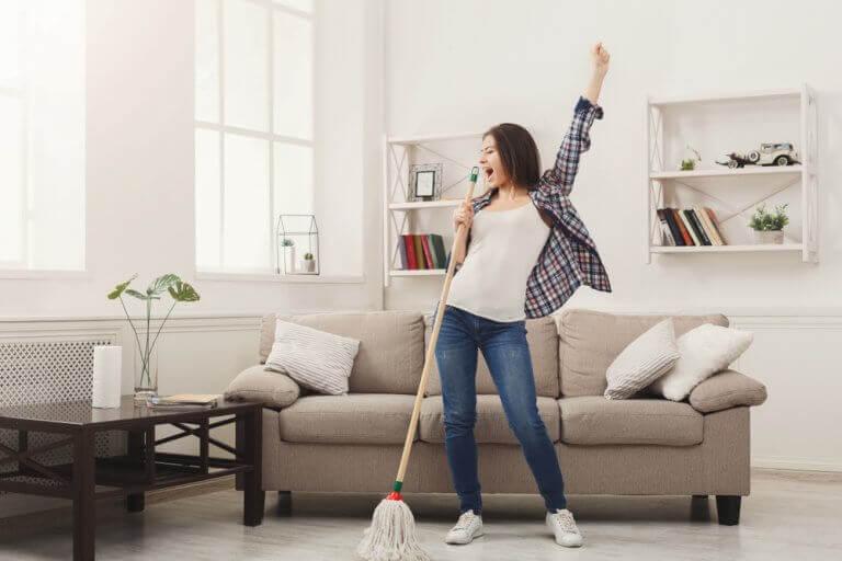 Método 20/10 para uma casa limpa e arrumada