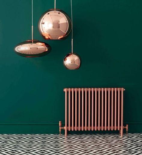 Pinte os radiadores e transforme-os em um recurso decorativo original