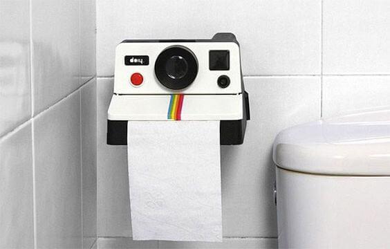 Tipos de suportes para o papel higiênico do banheiro