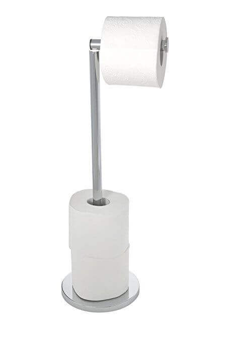 Tipos de suporte para o papel higiênico