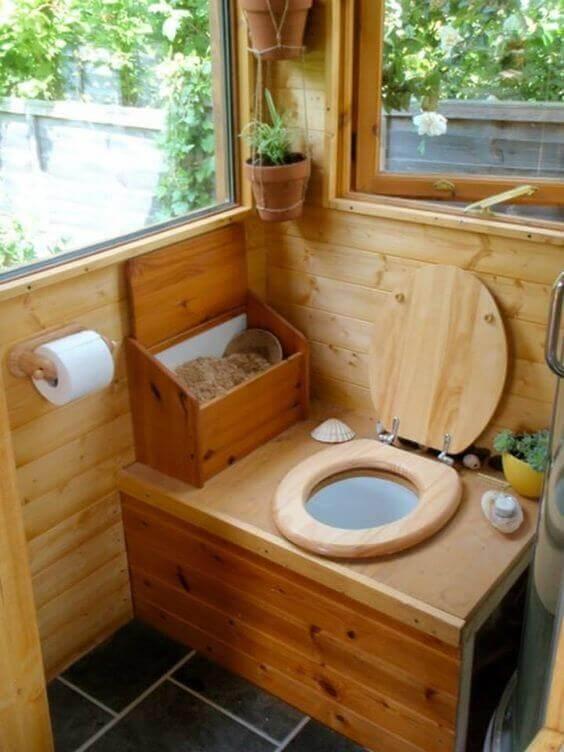 Banheiro seco ecológico