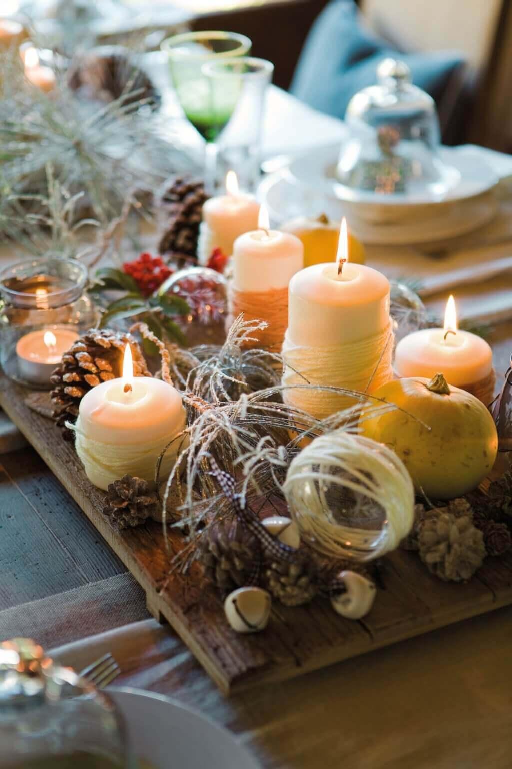 Decoração de Natal sustentável para a sua casa