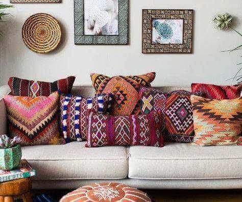 Como integrar o estilo étnico andino à sua casa?