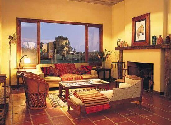 integrar o estilo étnico andino à sua casa