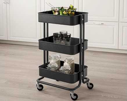 As ideias mais originais de usos para o carrinho RÅSKOG da Ikea