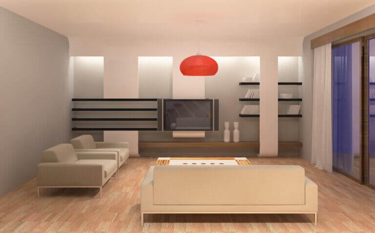 Dicas para a iluminação de salas de estar, salas de jantar e cozinhas