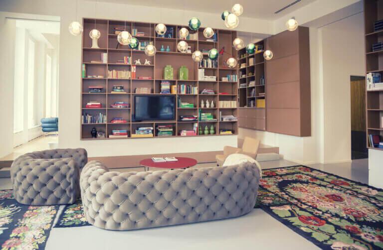 Modelos de estantes: soluções práticas