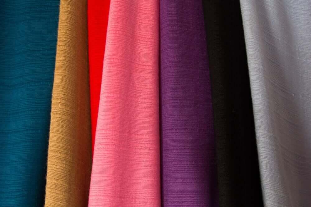 Os tecidos mais macios para proporcionar maior conforto