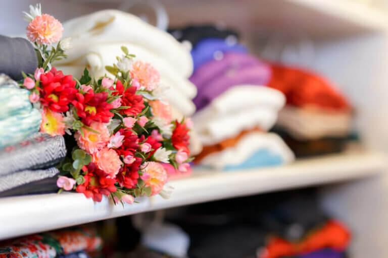 Fórmulas para deixar armários e gavetas com aromas agradáveis