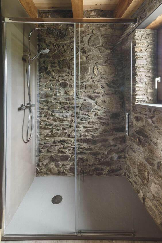 O banheiro ideal para uma casa rural