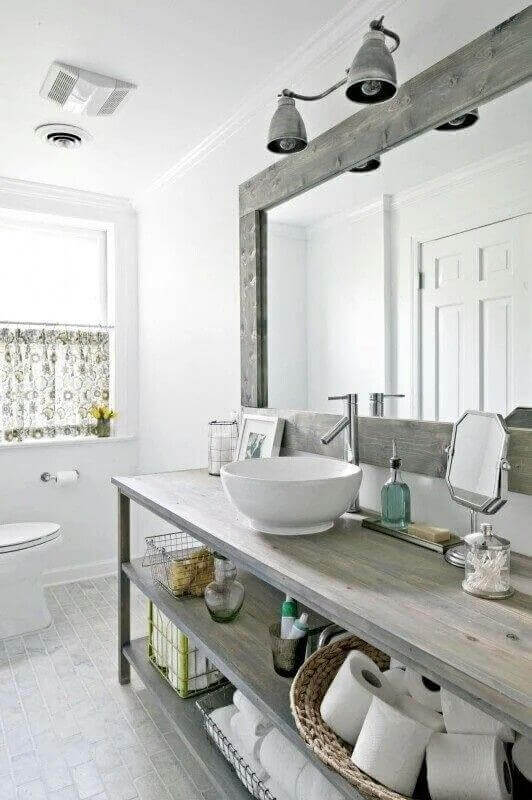 Gabinetes para banheiros