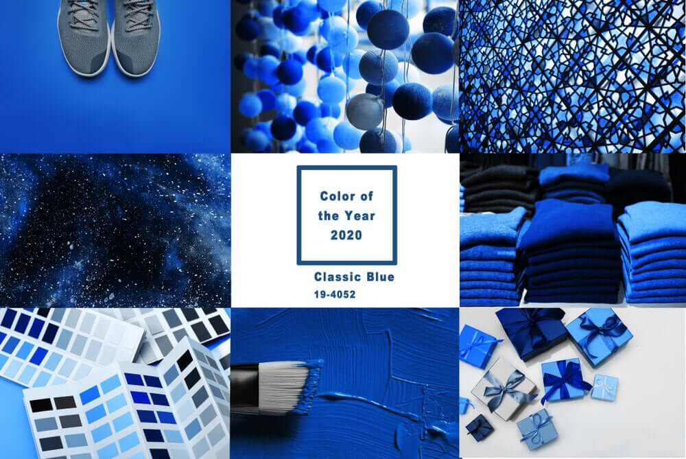 Aprenda a combinar o Classic Blue, a cor do ano de acordo com a Pantone