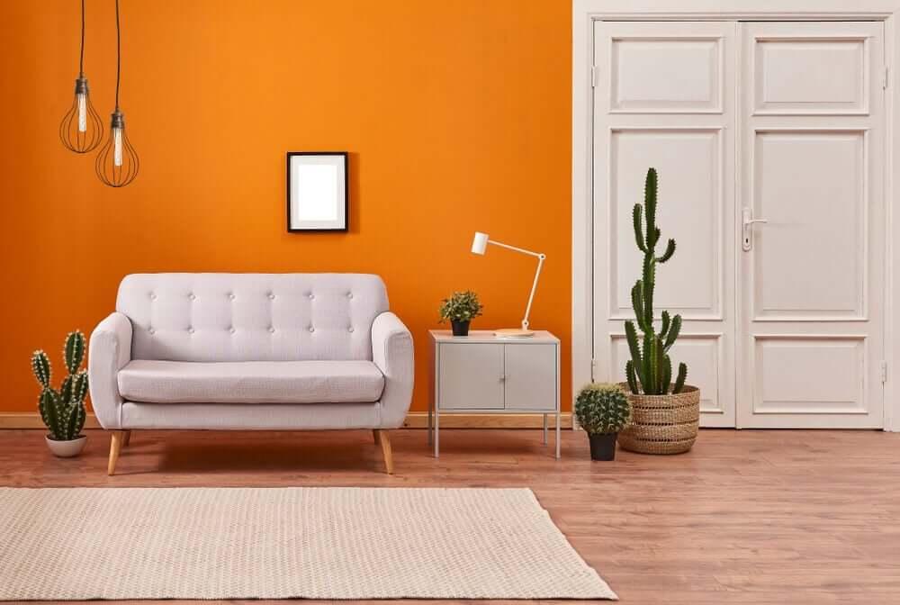 3 cores contundentes para as paredes
