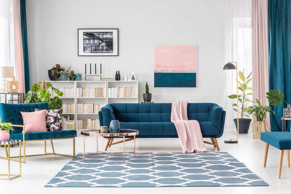Como um decorador profissional combina as cores?