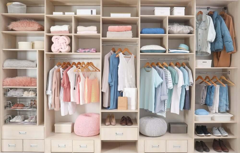 deixar armários e gavetas com aromas agradáveis