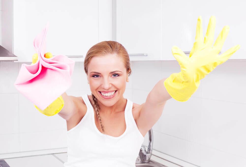 Desinfecção da casa de forma rápida e eficaz