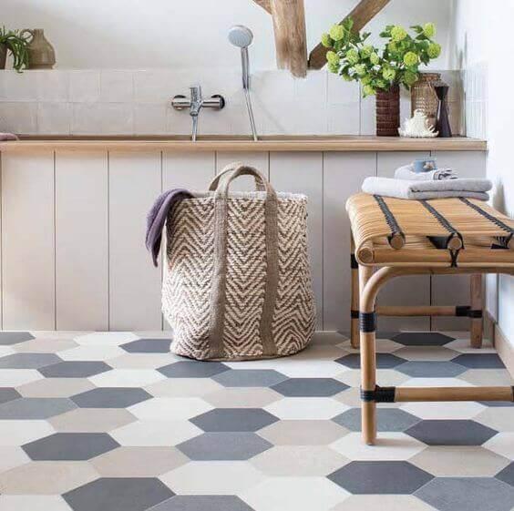 Mudar o piso da cozinha