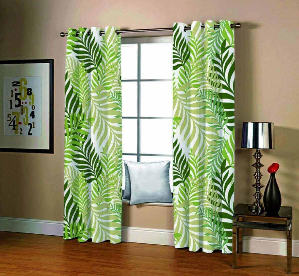 Estampas para as cortinas da casa